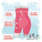 吸濕排汗平口塑身褲  【菁炭元素】涼感黃金比例雕塑平口褲  5件組
