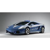 【BBURAGO】1/18藍寶堅尼Huracán LP610-4 Polizia 跑車 模型車