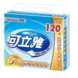 【可立雅】淨韌抽取衛生紙90+12抽(10包x10串/箱)