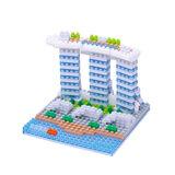 【Nanoblock 迷你積木】NBH-123 新加坡濱海灣金沙酒店