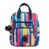 KIPLING 彩色條紋後背包 HB715300 (現貨+預購)