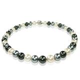 【小樂珠寶】完美時髦都會風潮,俐落都會知性感 3A全美正圓漂亮南洋深海貝珍珠項鍊