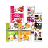 【台灣一番】熱銷5入組(草莓乾+鳳梨乾+香橙片+綜合野菜脆片+綜合水果脆片)