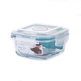 韓國NEOFLAM 耐熱玻璃保鮮盒 正方形-320ml