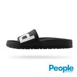 【People Footwear】Lennon Slide藍儂平底拖鞋-黑色