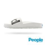 【People Footwear】Lennon Slide藍儂平底拖鞋-白色