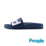 【People Footwear】Lennon Slide藍儂平底拖鞋-寶藍
