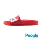 【People Footwear】Lennon Slide藍儂平底拖鞋-紅色