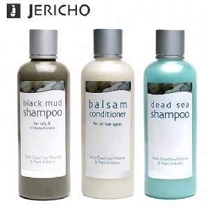 Jericho 死海洗髮精秀髮保養3件組(送290元奈米遠紅外線按摩眼罩乙個)|以色列原裝進口